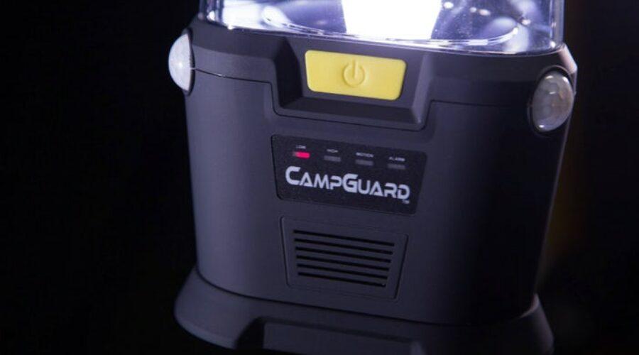 CampGuard: linterna, sensor de proximidad y alarma todo en uno