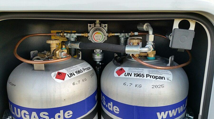 Características de la instalación de gas en autocaravanas