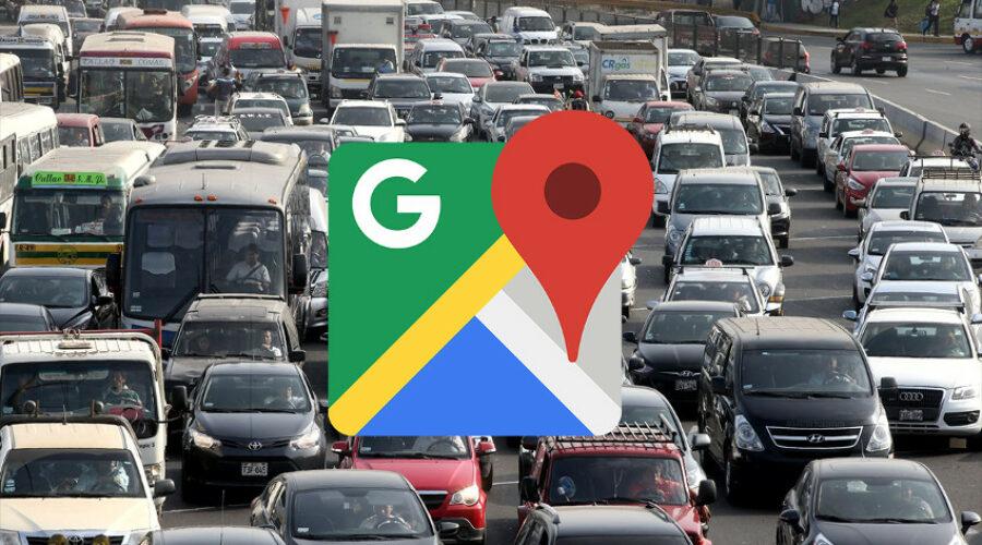 Cómo ver el estado del tráfico en Google Maps?