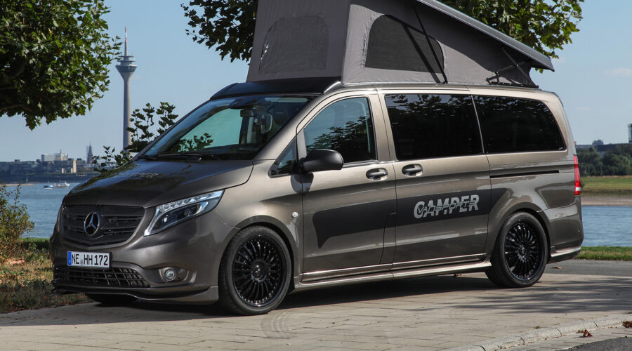 Hartmann presenta la Cámper Vansports sobre Mercedes