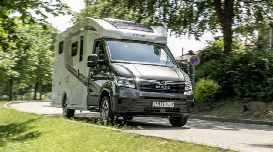 Knaus convierte la MAN TGE en la autocaravana Van TI Plus