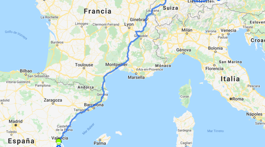 Viaje a Selva Negra y Austria en autocaravana
